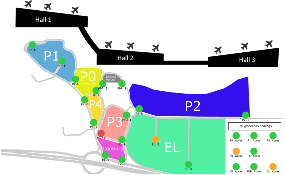 servicenac parking airport vf