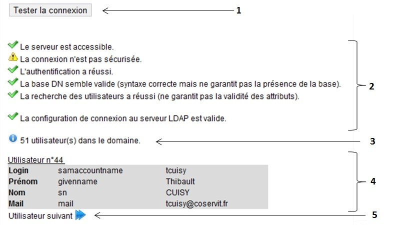 LDAP Connection - Test