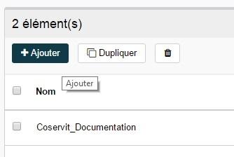 ServiceNav -Contact - Ajouter