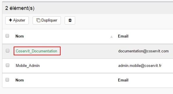 ServiceNav - Contact - Modifier