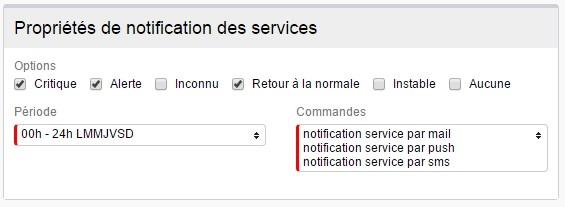 ServiceNav -Contact - Types of notifications for unit services