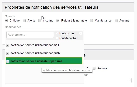 ServiceNav - Contact - Notification types for user services
