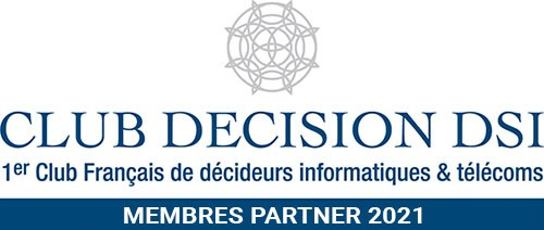 logo club decision dsi club dsi blue